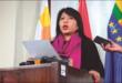 La defensora Nadia Cruz en un anterior contacto con la prensa. Foto:APG