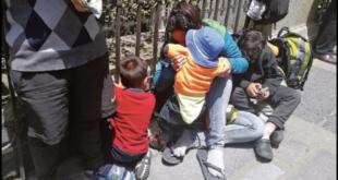 Niños venezolanos en las calles de La Paz, con sus padres. / Foto: Archivo