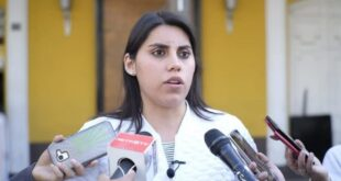 Senadora por Comunidad Ciudadana (CC), Andrea Barrientos.