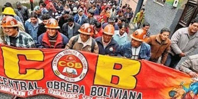 Central Obrera Boliviana (COB), Foto/Archivo