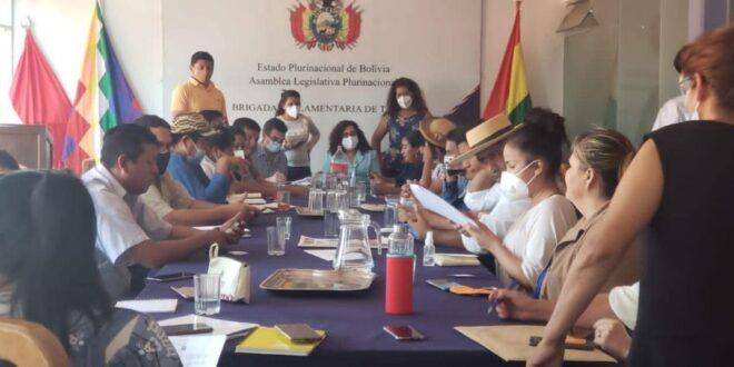 El diputado del Movimiento Al Socialismo (MAS), Eloy Maraz, fue electo este lunes como presidente de la Brigada Parlamentaria de Tarija y comprometió un trabajo coordinado con todas las autoridades en busca del desarrollo del sur del país.