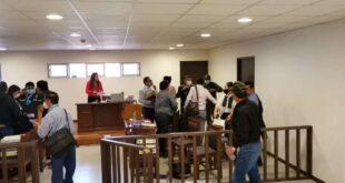 La audiencia fue realizada en Cochabamba. Foto: Humberto Ayllón