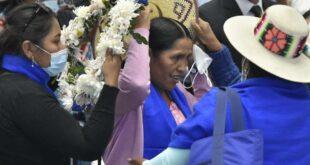 Orellana salió de las filas de las Bartolinas Foto: ABI