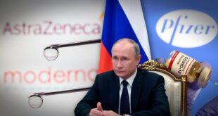 El Kremlin ha lanzado una feroz campaña contra las vacunas occidentales