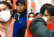 "Eva Copa, candidata a al alcaldía de El Alto por ""Jallalla La Paz"". Imagenes: Captura de pantalla de Vos TV."