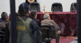 Imagen de archivo tomada durante el juicio a líderes de Sendero Luminoso