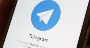 Logotipo de Telegram en la pantalla de un smartphone.Ilyá Naymushin / Reuters