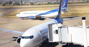 Naves de BoA en el aeropuerto de Cochabamba. | Daniel James