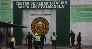 La cárcel cruceña de Palmasola. Foto: APG