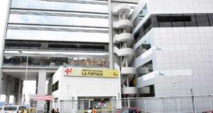 El Hospital de La Portada es uno de los que vio colmada su capacidad. Foto: AMN.