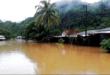 Las poblaciones de Tipuani y Chima (La Paz) se vieron afectadas por el desborde de los ríos. / Foto: APG