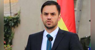 El ministro del Castillo habló de la situación en las cárceles. Foto: ABI