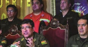 El excomandante de la Policía Yuri Calderón, en 2019. Foto:Archivo