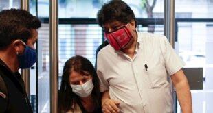 El expresidente Evo Morales, en Buenos Aires, antes de dar una conferencia, el año pasado. / Foto: Archivo