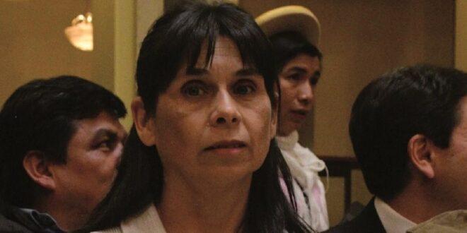 La vocal del Tribunal Supremo Electoral, Rosario Baptista. / Foto: Archivo