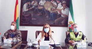 La medida fue dada a conocer por la alcaldesa de Santa Cruz. Foto: Captura de video