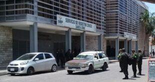 Una vista del frontis del Tribunal Electoral Departamental de Santa Cruz. Foto: Archivo