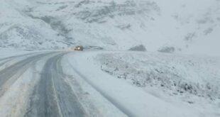 Así se ve La Cumbre paceña, tras la fuerte nevada registrada. Fotos: Radio Origen