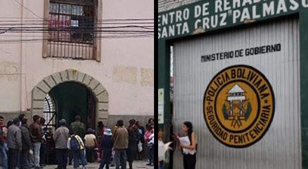 Covid-19: Anuncian encapsulamiento de las cárceles de San Pedro y Palmasola