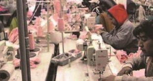 Trabajadores en una industria textil del departamento de La Paz. Foto:Archivo