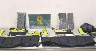 FOTO: POLICIA ESPAÑOLA Y FELCN