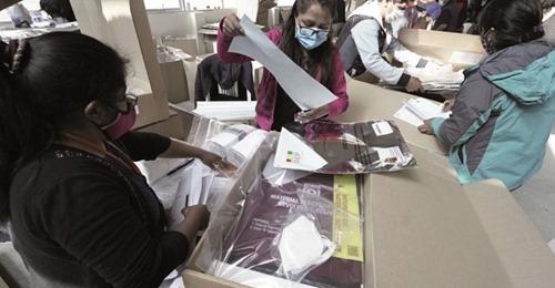 La maleta electoral usada en las elecciones de octubre de 2020 incluyó elementos de bioseguridad contra la Covid-19. / Foto: Archivo