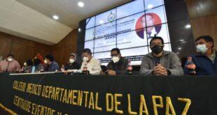 Los médicos de La Paz hacen conocer sus conclusiones. | APG