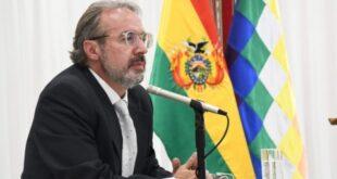 El vocero presidencial Jorge Richter. / Foto: ABI