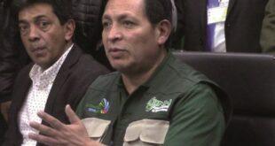 El general Luis Fernando Valverde, exdirector de la ANH, fue imputado en el caso Senkata. Foto: Opinión