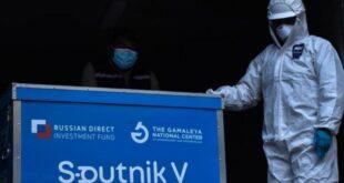 Un lote de la vacuna rusa Sputnik-V, que llegó al país la anterior semana. / Foto: Archivo
