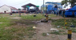 Churiaca después de la celebración política del sábado en Irupana. Foto: RRSS