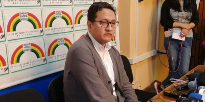 El viceministro de Salud, Álvaro Terrazas. | Foto archivo | Los Tiempos