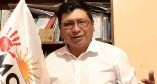 El alcalde electo de Potosí, Jhonny Llally. / Foto: Erbol
