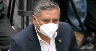 En la imagen un registro del ministro de Relaciones Exteriores de Bolivia, Rogelio Mayta Mayta. EFE