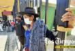 Pilar Reyes se crucificó en el TDJ. | Daniel James
