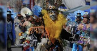 Imagen de archivo de un baile de morenada. ARCHIVO