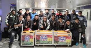 El plantel de Proyecto Latín que jugará la Copa Libertadores de Futsal. | Proyecto Latín