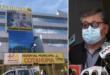 Sahonero fue atendido en el Hospital Cotahuma. Fotos: ERBOL y AMN.