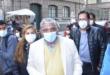 El alcalde Iván Arias se presenta a declarar este viernes en el Ministerio Público, como testigo del caso gases. / Foto: APG