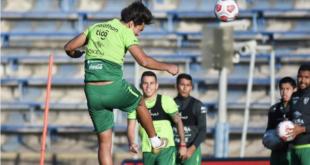 El entrenamiento de la Verde, antes del duelo ante Chile. | Prensa FBF
