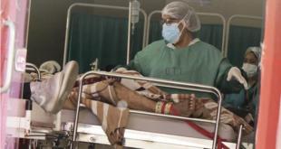 Pacientes con Covid-19 en Cochabamba.   APG