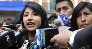 Evaliz Morales, hija de Evo Morales. | Foto archivo