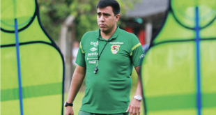 César Farías, entrenador de Bolivia. OPINION