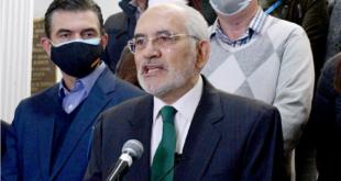 El expresidente y líder de CC, Carlos Mesa. ARCHIVO