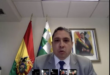 El representante de Bolivia en la OEA, Héctor Arce.   Los Tiempos