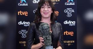 Daniela Cajías fue la primera boliviana en ganar el Goya. | Facebook