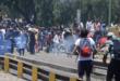 Los enfrentamientos registrados en la zona de la Muyurina entre gente de la ciudad y el campo en 2019. | Foto archivo | José Rocha