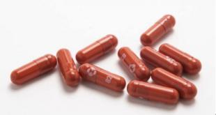 Las píldoras de tratamiento Covid-19 experimentales llamadas molnupiravir. | EFE