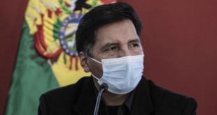 El ministro de Educación, Adrián Quelca.   Foto archivo   APG