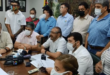 Comités cívicos del país, en conferencia de prensa. | Foto archivo | Los Tiempos